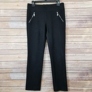 Anne Klein Straight Leg Stretch Pants Size Small